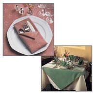 """52""""x114"""" White Banquetcloths"""
