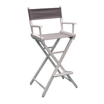 "DCCXX-YY - Counter(30""H)Director Chair Frame w/Unprinted Canvas"