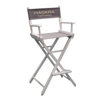 """DCCXX-YY-S1 - Counter(30""""H)Director Chair w/SilkScreen 1 Color Printed Canvas"""