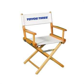"DCRXX-YY-S1 - Regular(17""H)Director Chair w/SilkScreen 1 Color Printed Canvas"