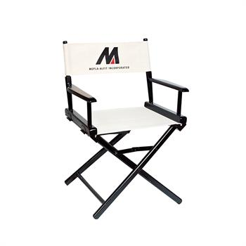 "DCRXX-YY-S2 - Regular(17""H)Director Chair w/SilkScreen 2 Color Printed Canvas"