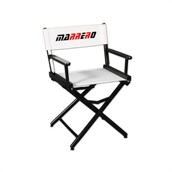 """DCRXX-YY-X2 - Regular(17""""H)Director Chair w/XPress 2 Color Printed Canvas"""