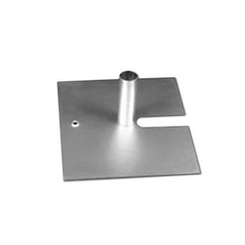 """HWB1416 - 14""""x16"""" 12# Silver Base w/1.5""""Pin"""