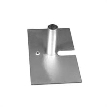 """HWB814 - 8""""x14"""" 6# Silver Base w/1.5""""Pin"""