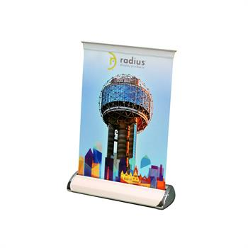 HWBSRUMS - Mini Rollup Banner Stand - Small