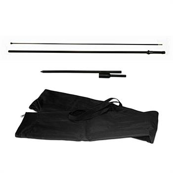 HWFFSO - Small Outdoor Feather Flag Kit