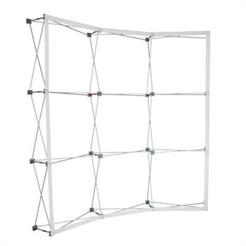 HWPG33CURC - 8'x8' Curved (3x3) RPGS Unit (Hardware only)