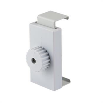 HWPSCONS - Pop-Up SEG Straight Plus connector, White, 3/Pk