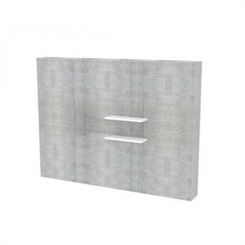HWPSSH2 - Pop-Up SEG Shelf (Double)
