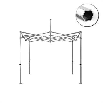 HWT1010B - 10'x10' Tent Frame, 40mm HEX Aluminum