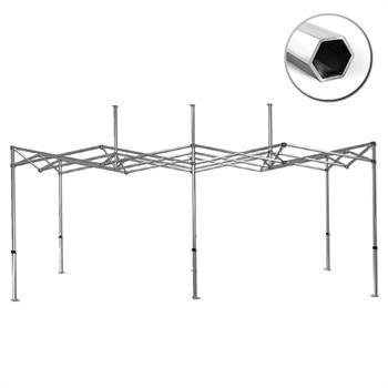 HWT1020B - 10'x20' Tent Frame, 40mm HEX Aluminum