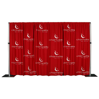 MLVKIT308XX-S1 - 30'x8' MultiVision™ Backdrop 1 Color Silk Screen