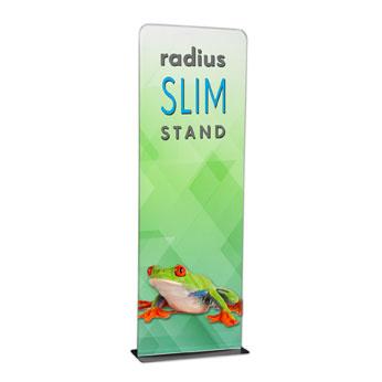 RPQRSKIT31 - 3' Radius Slim Stand™ w/Graphic, 1-Sided