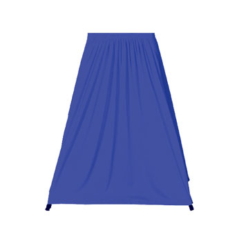 """PST8430XX - 84""""x30""""H Projection Stand Skirt Twill"""