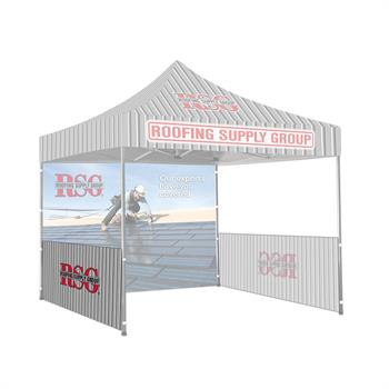 RPCT10HW1 - 10'x10' Printed Tent Side/Halfwall, 1-Sided