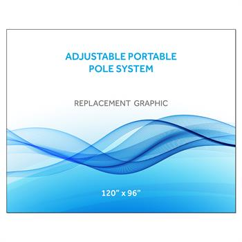 """RPQAP12096 - 120""""x96""""H Graphic for Port Pole System"""