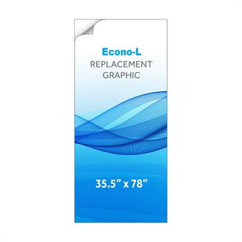 RPQBNELL - Graphic for Large Econo-L Banner Stand
