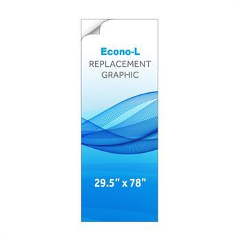 RPQBNELS - Graphic for Small Econo-L Banner Stand