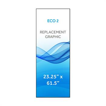 "RPQBNZECO2 - 23.3""x61.5""H ECO™ 2 Graphic"