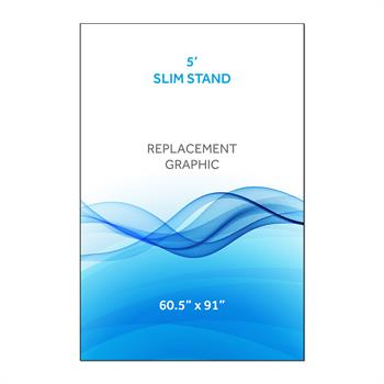RPQRS51 - Graphic for 5' Radius Slim Stand™, 1-Sided