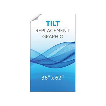 """RPQTL3662 - 36""""x62""""H Tilt™ Graphic"""