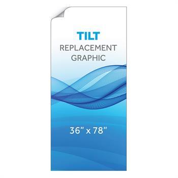 """RPQTL3678 - 36""""x78""""H Tilt™ Graphic"""