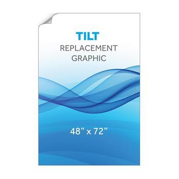 """RPQTL4872 - 48""""x72""""H Tilt™ Graphic"""