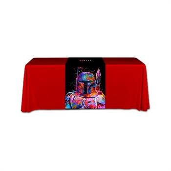 """RPQTR2466F - 24""""x66""""Table Runner,Fully Printed"""