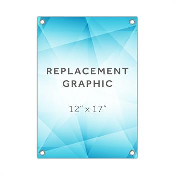 RPQXSMINI - Graphic for X-Stand Mini Table Top Display