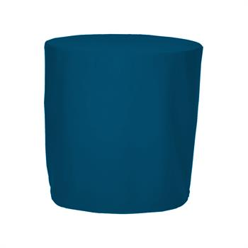 "TCTOF106XX - 106""D Round, Fitted, Twill Table Throw"