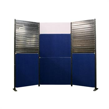 XX64 - Pole Panel Slatwall A Display Kit
