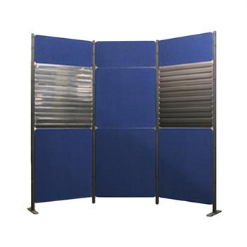 XX66 - Pole Panel Slatwall C Display Kit