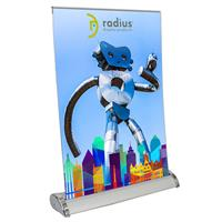 Mini Rollup Banner Stand - Large