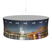 10' Round Hanging Structure w/ Graphic