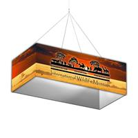12' x 6' Rectangle Hanging Structure w/ Graphic