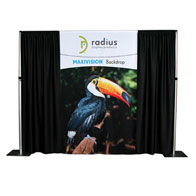 10'x8' MaxiVision™ Backdrop Fully Printed