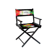 "Regular(17""H)Director Chair w/Printed Canvas, 1-Sided"
