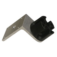 "Versatop Angle Mounted Crown (Fixed) Angle Bracket Crown With Holes For Mounting To Walls Or Use With Clamps With Up To 1/2"" Bolt"