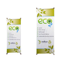 ECO™1 Banner Stand 1 Kit w/ Graphic