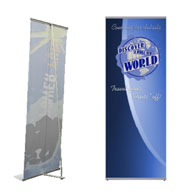 HWELL - Large Econo-L Banner Stand