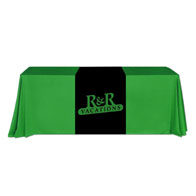 "24""x66""Table Runner w/1 Color XPress Scan"
