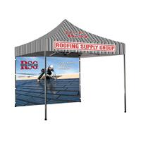 10'x10' Printed Tent Backwall, 2-Sided