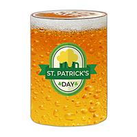 """Preprinted Holiday Fitted Cover 30""""x42""""H - """"Beer"""""""