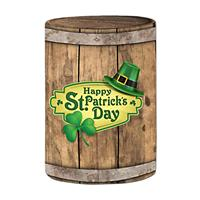 """Preprinted Holiday Fitted Cover 30""""x42""""H - """"Barrel"""""""