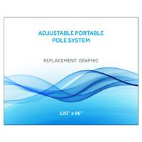 "120""x96""H Graphic for Port Pole System"
